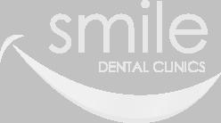Smile Dental Clinics white logo